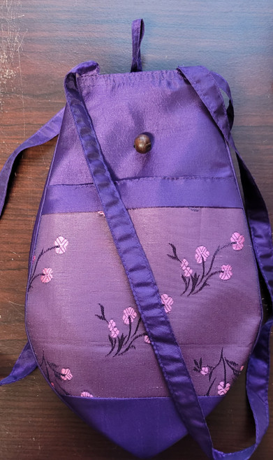 94 Hand Made Accessories Silk Project Bag Floral by Plymouth Yarn