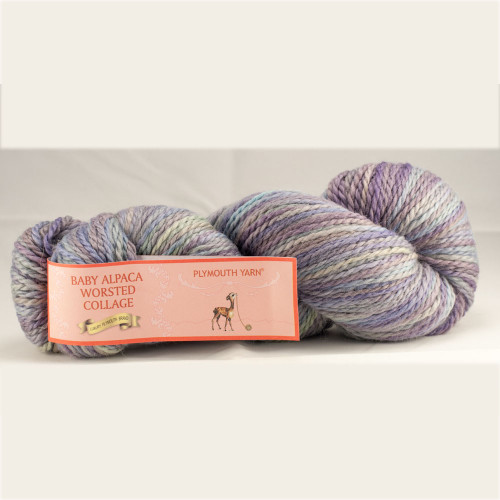 Baby Alpaca Worsted Collage by Plymouth Yarn