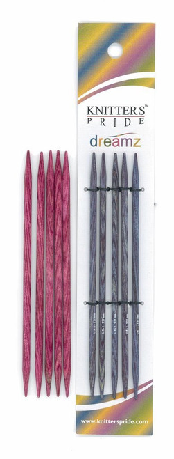 "6"" Dreamz Double Point Knitting Needles by Knitter's Pride"