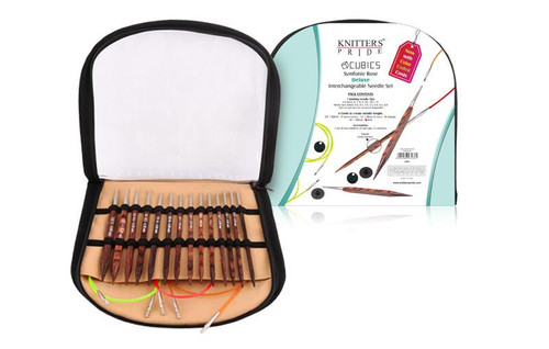 "Cubics - 4.5"" Interchangeable Needle Set Deluxe by Knitter's Pride"