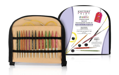 "Dreamz - 3.5"" Interchangeable Needle Set 16"" ""Special"" by Knitter's Pride"