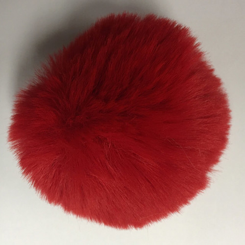 Faux Rabbit Fur Pom-Poms by McPorter Farms