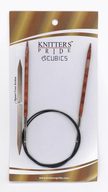 "32"" Cubics Circular Knitting Needles by Knitter's Pride"