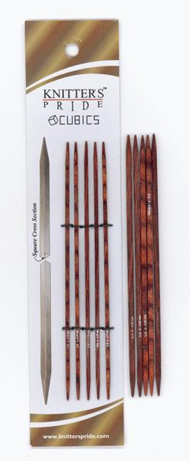 "6"" Cubics Double Point Knitting Needles by Knitter's Pride"