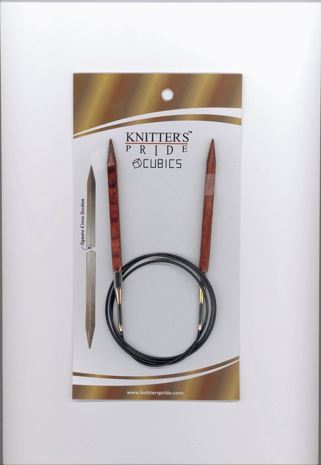 "40"" Cubics Circular Knitting Needles by Knitter's Pride"