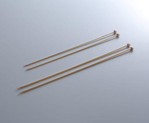 "9"" Bamboo Single Point Knitting Needles by KA Bamboo"