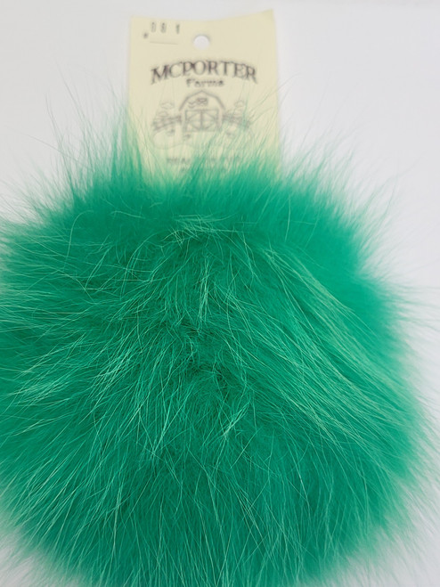 Real Fox Fur Pompom by McPorter Farms