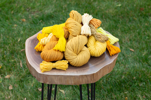 Waverly Wool 4 ounce Hanks by Brown Sheep