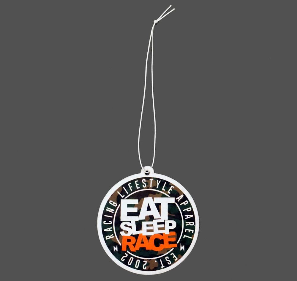 Logo Air Freshener v2 | Woodland Camo