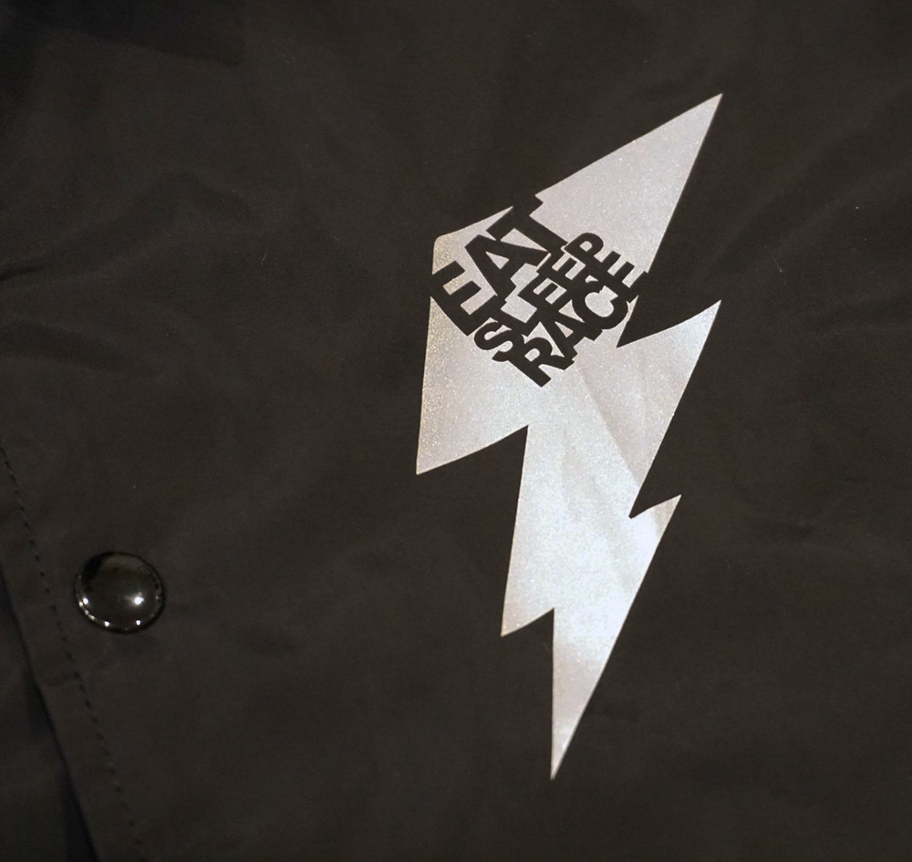 Bolt Coaches Jacket | Black