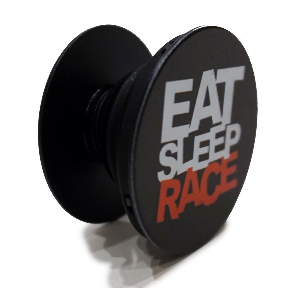 Logo Pop Grip   Black
