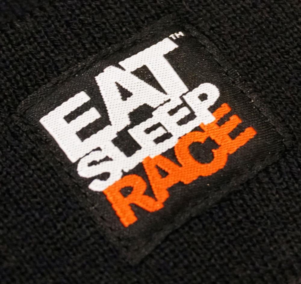 Logo Team Beanie | Black/Red
