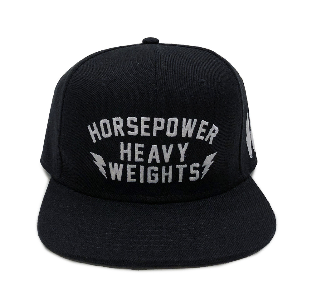 HP Heavyweights Snapback Hat | Black