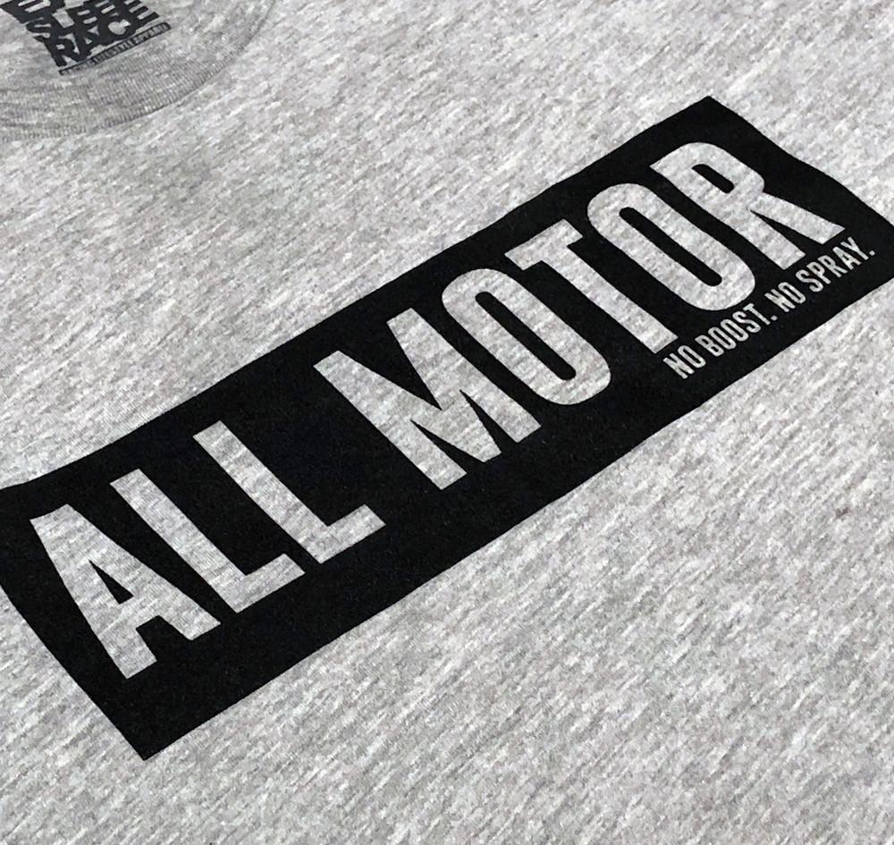 All Motor 7 Lightweight T-Shirt | Grey