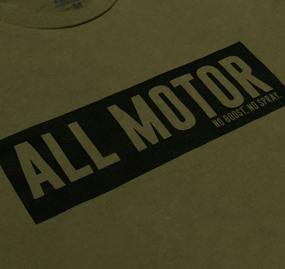 All Motor 7 Lightweight T-Shirt | Olive