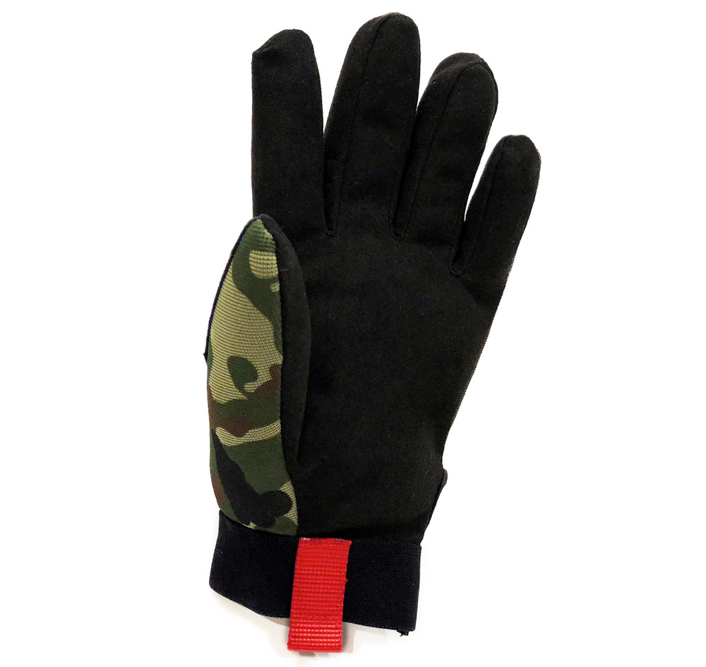 Mechanics Gloves Logo | Camo