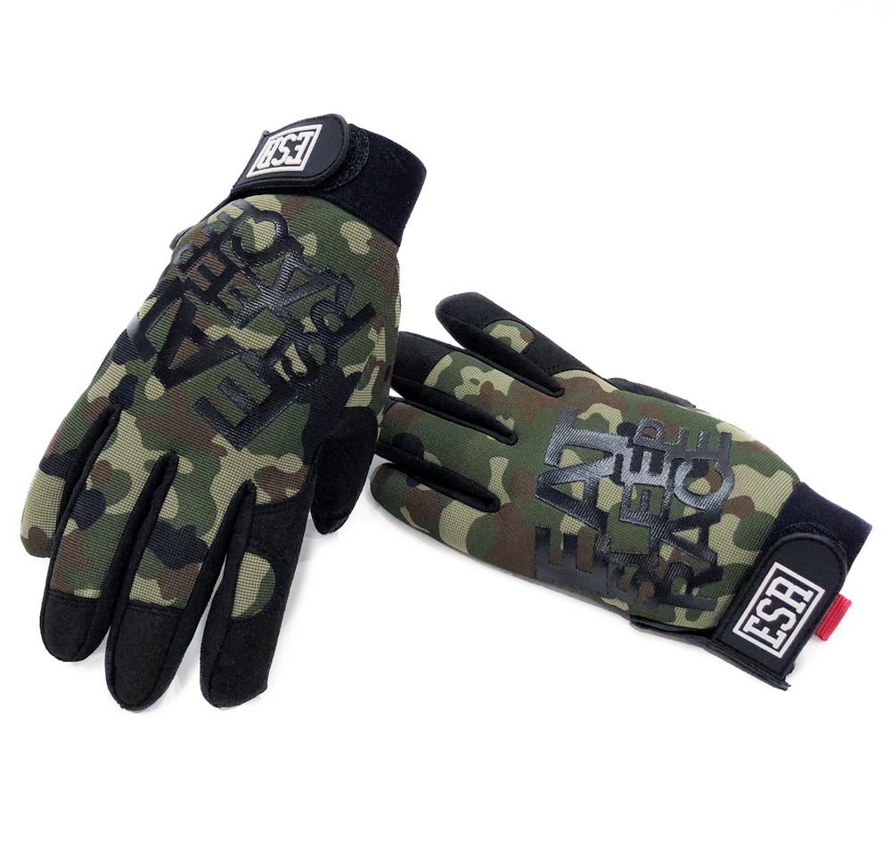 Mechanics Gloves Logo | Camo