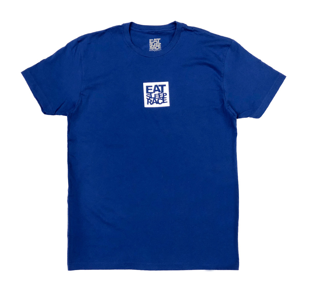 Logo Square Lightweight T-Shirt | Blue