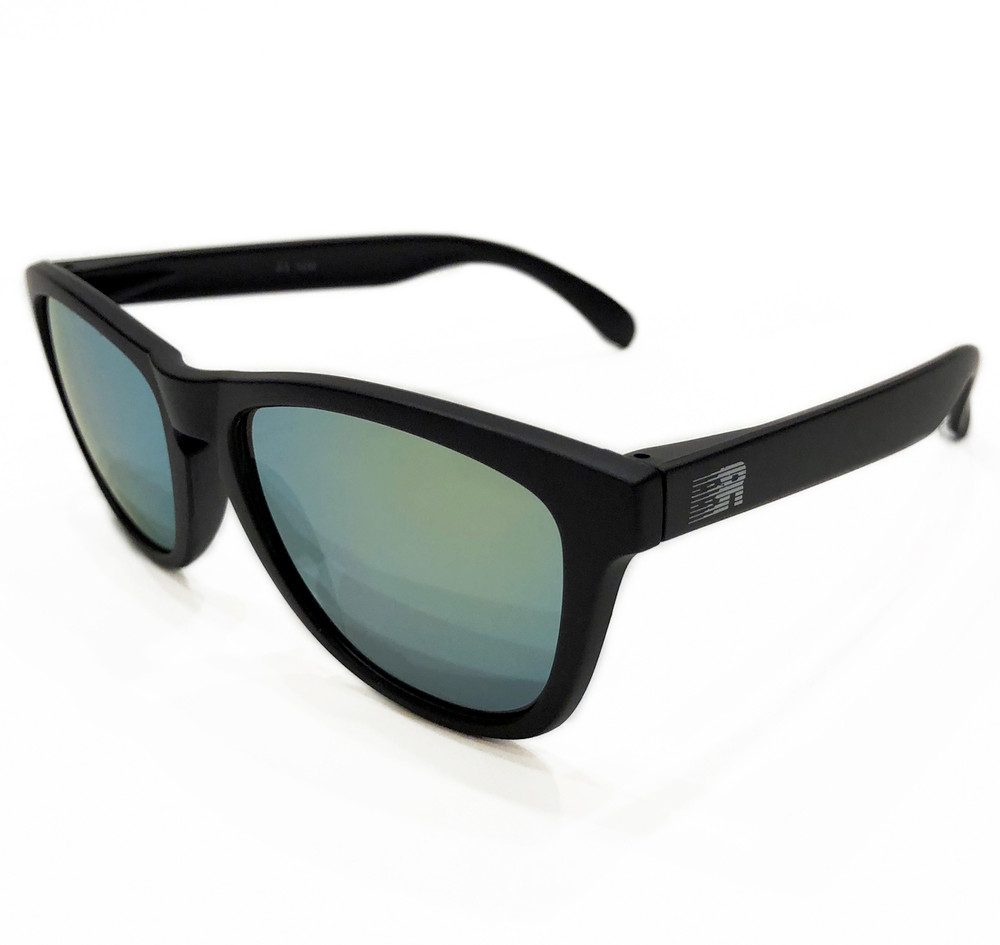 ESR Speed Line Sunglasses | Matte Black/Gold (UV400) | Pouch