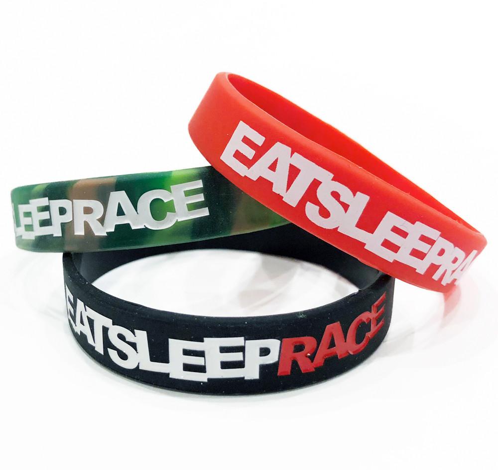 Logo Rubber Wristband | 3-Pack
