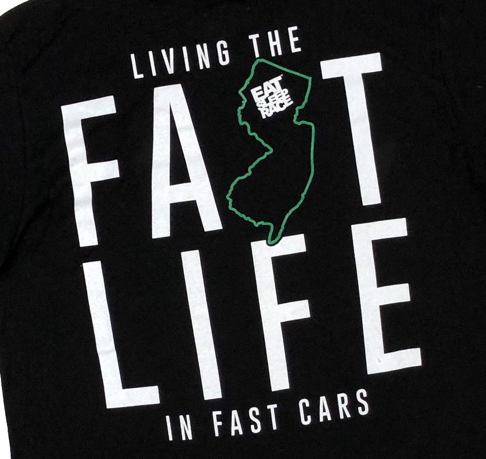 Jersey Fastlife Lightweight T-Shirt | Black