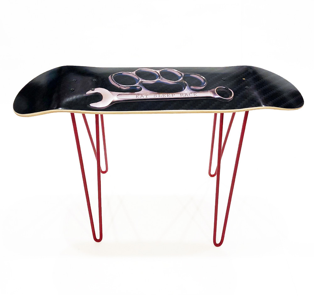 Ltd Edt Skateboard Deck Bench | Knuckle Wrench