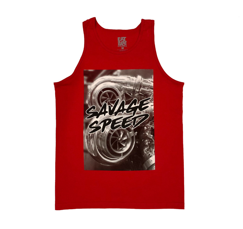 Savage Tank Top | Red