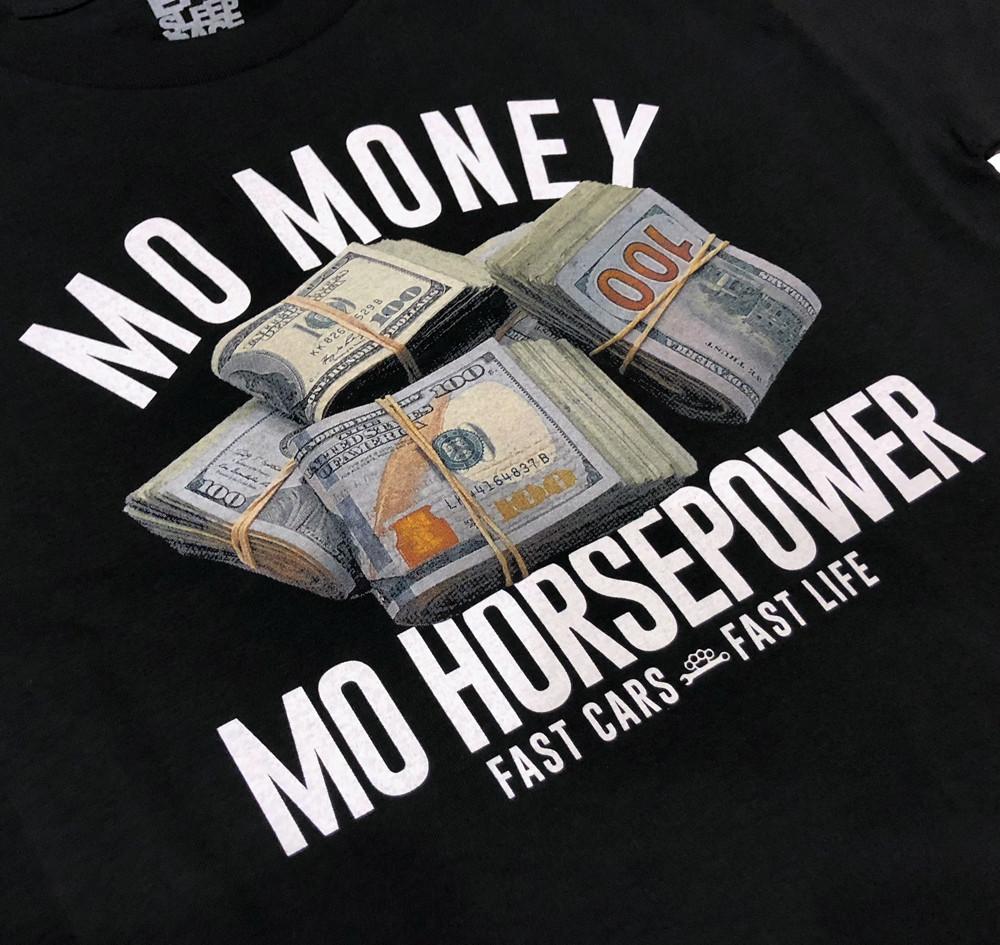 Mo Money T-Shirt | Black
