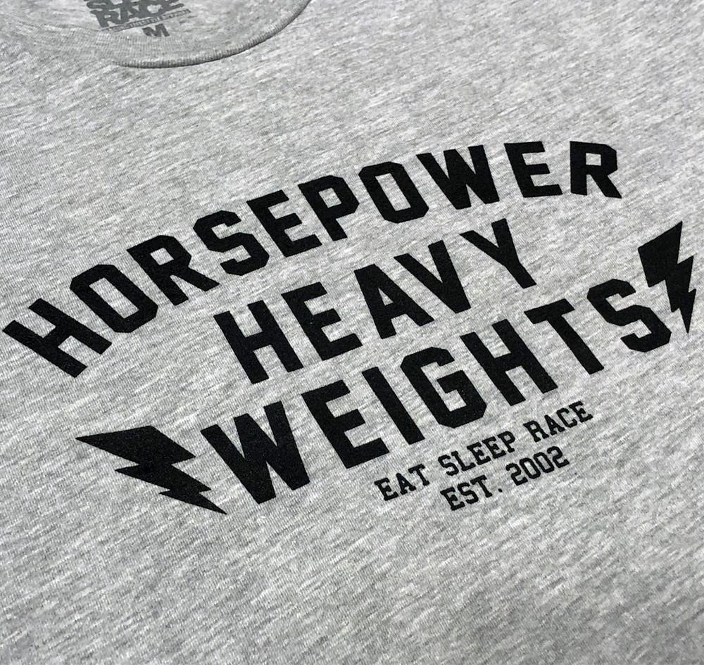 Heavyweight Gloves Lightweight T-Shirt | Grey