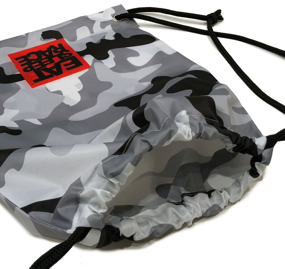 Drawstring Bag | Snow Camo