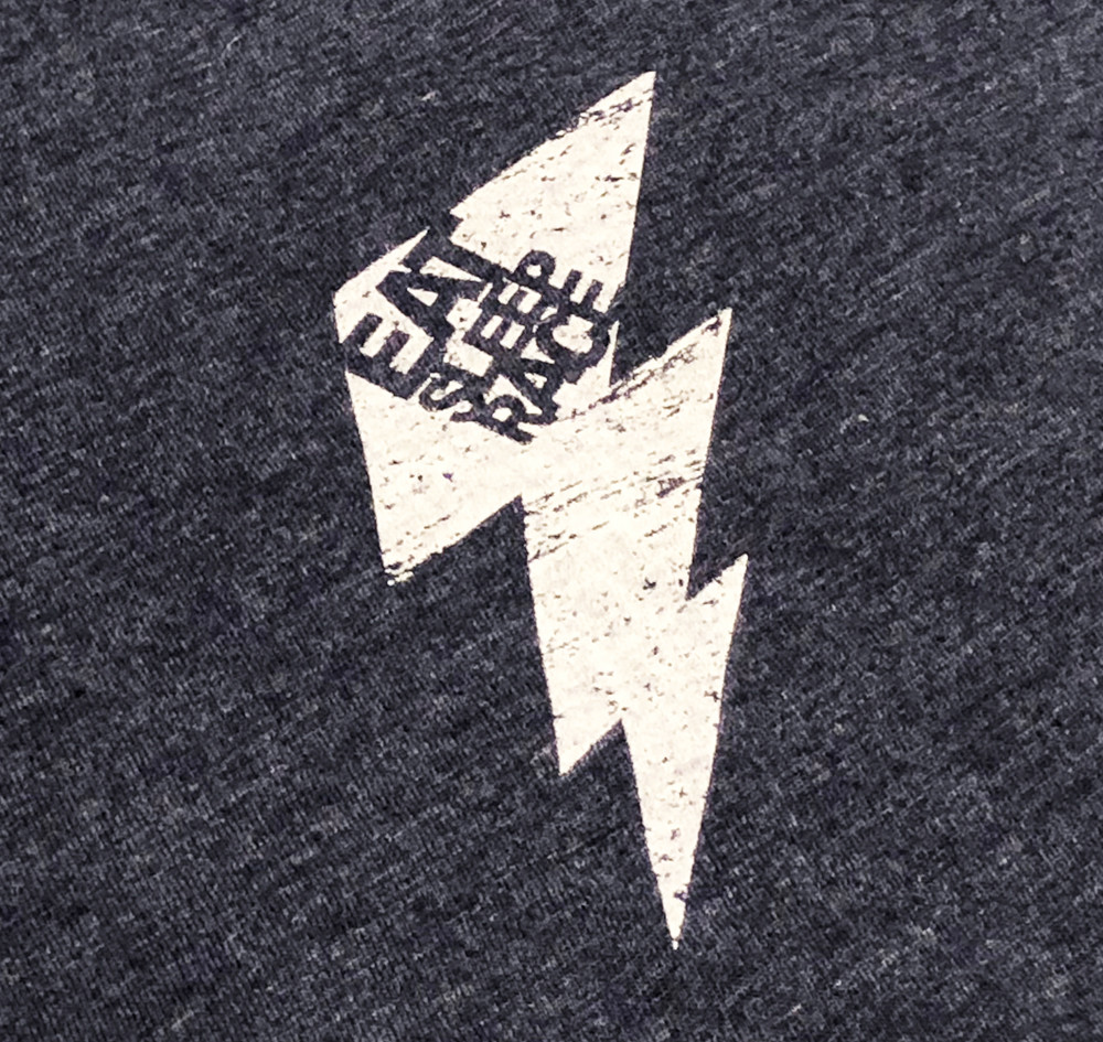 ESR Bolt Flag Lightweight T-Shirt | Navy