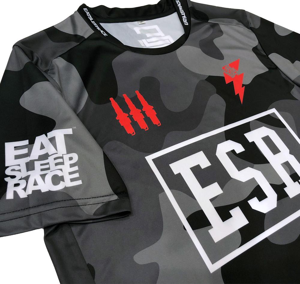 ESR Performance Racer Shirt | Black Camo