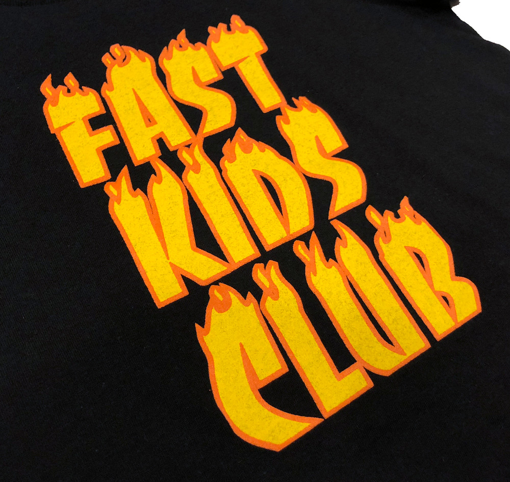 Fast Kids Club Inferno T-Shirt | Black