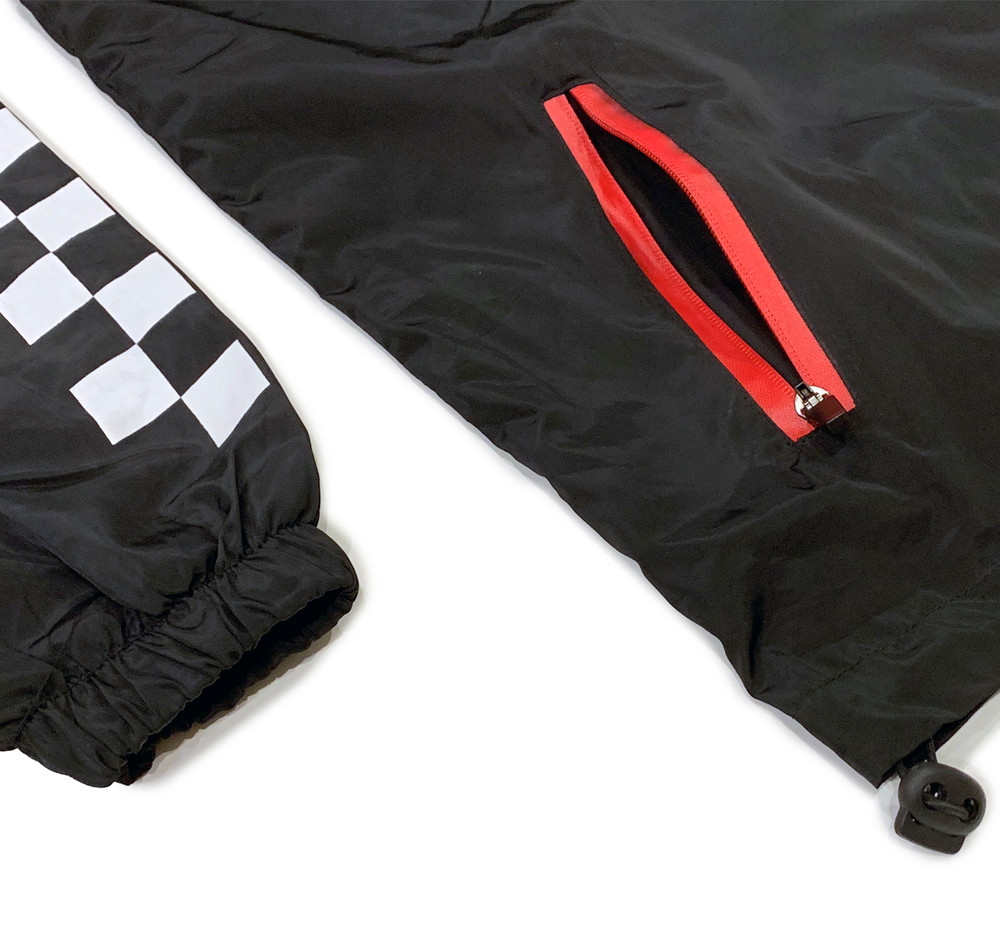 ESR Anorak Windbreaker Jacket | Black
