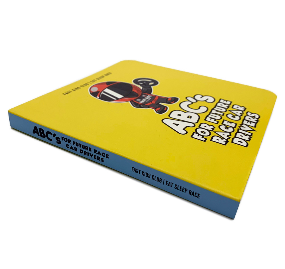 ABC Book For Future Race Car Drivers PRE-ORDER (SHIPS JAN 2019)