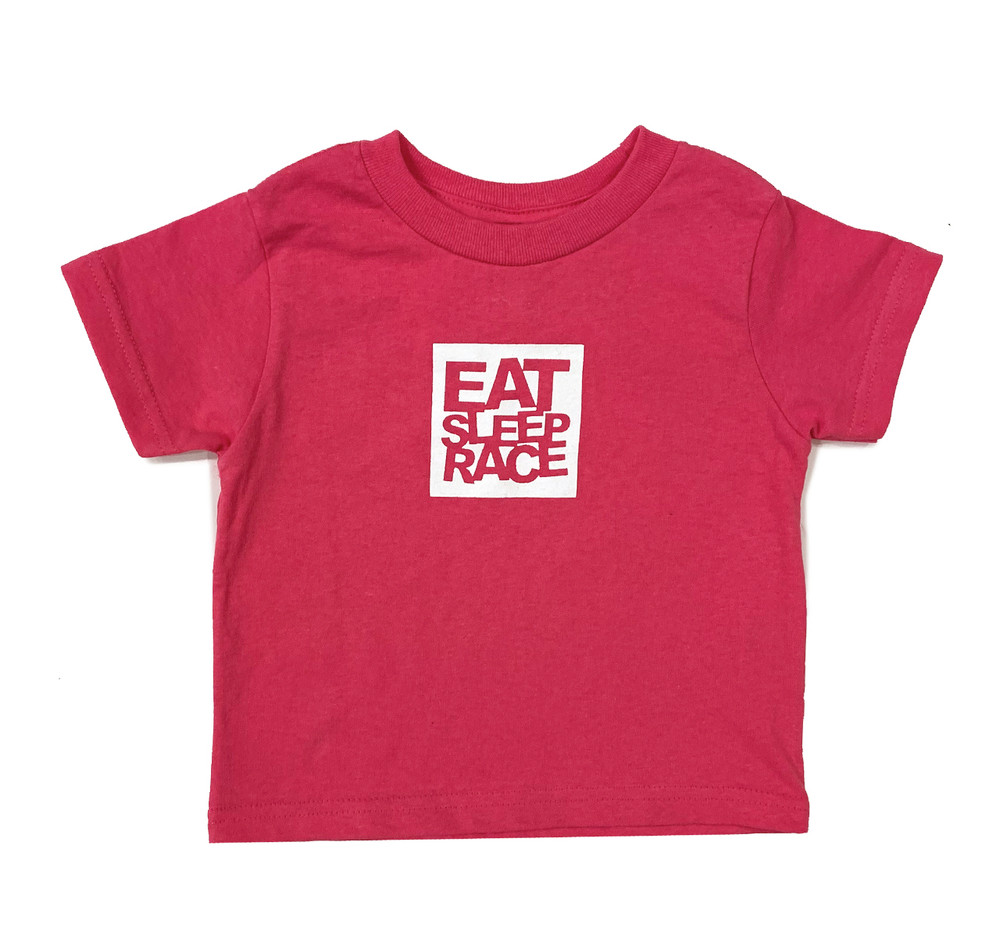 Kids Logo Square T-Shirt | Berry