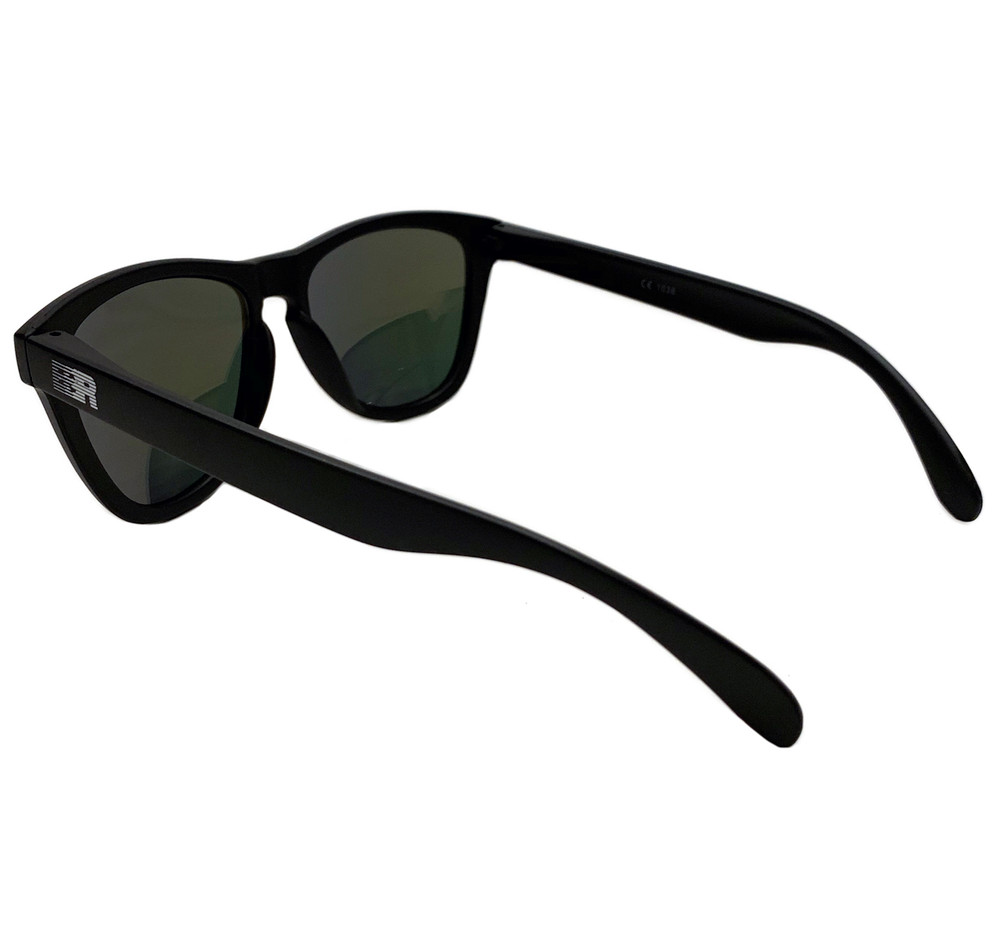 ESR Speed Line Sunglasses | Matte Black/Red Iridium (UV400) | Pouch