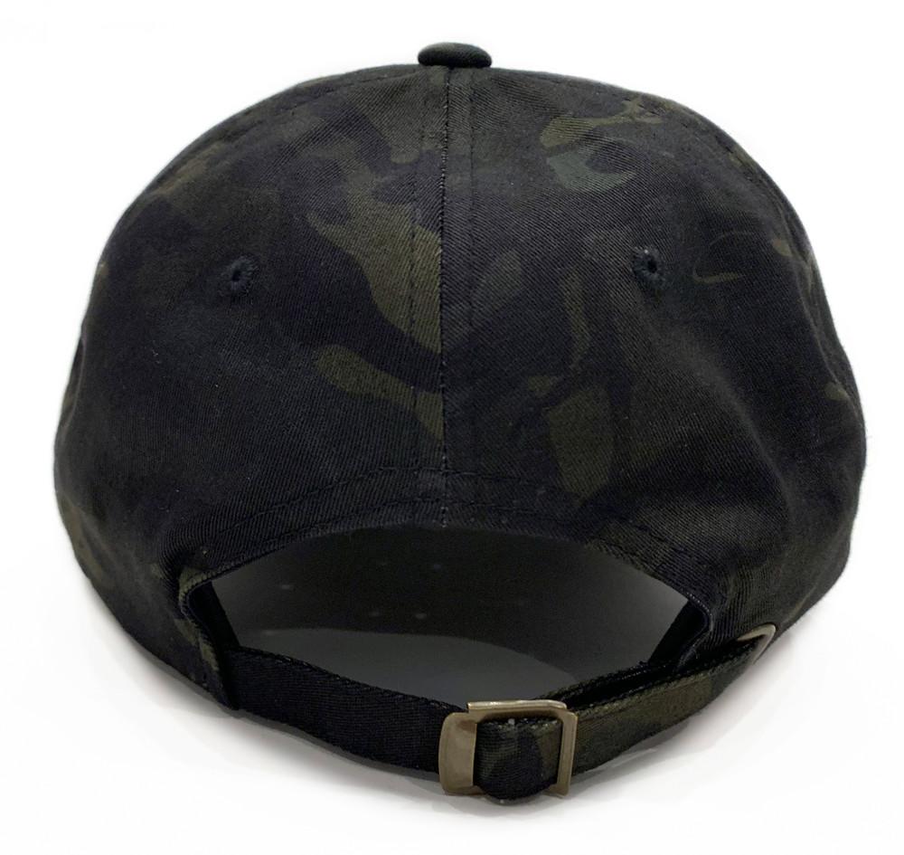 Knuckle Wrench Sport Strapback Hat | Black Multicam
