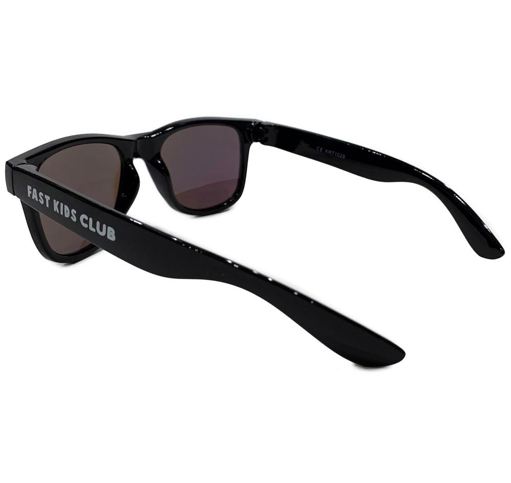 FKC Kids Sunglasses | Black/Gold Iridium (UV400)