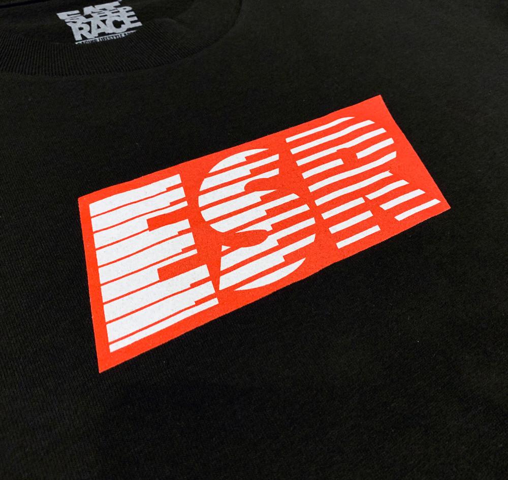 Turbo Speedlines 2 T-Shirt | Black/Red