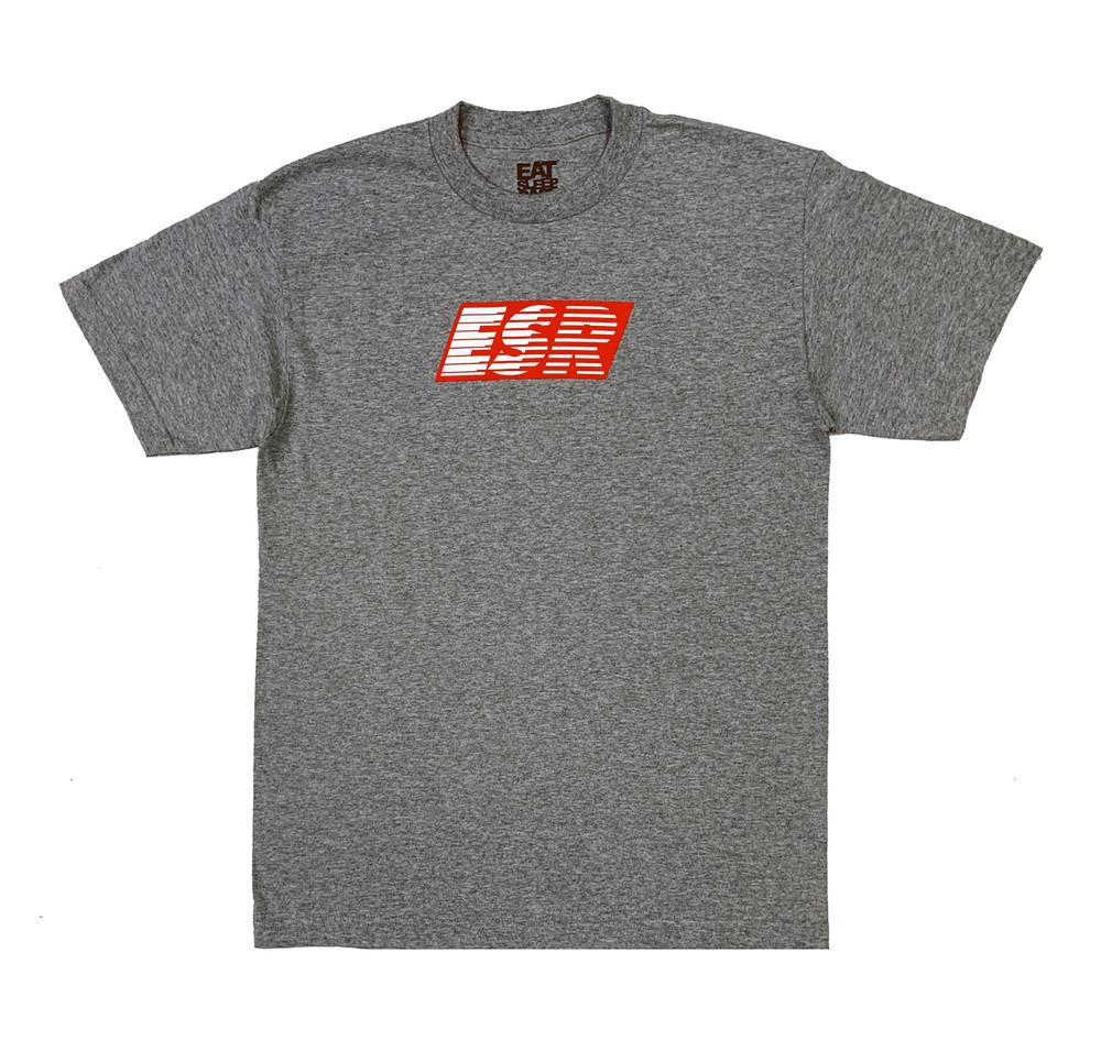 Turbo Speedlines 2 T-Shirt | Grey/Red