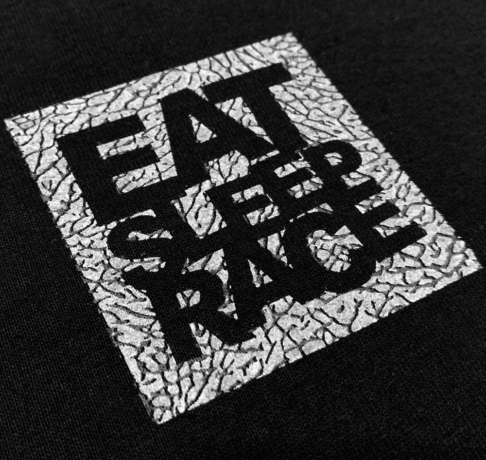 Logo Square T-Shirt | Black/Cement