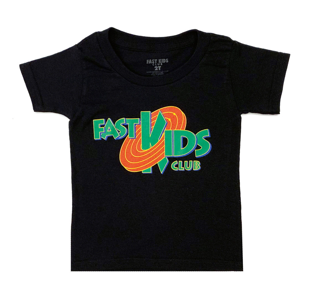 Fast Kids Club Jam T-Shirt | Black