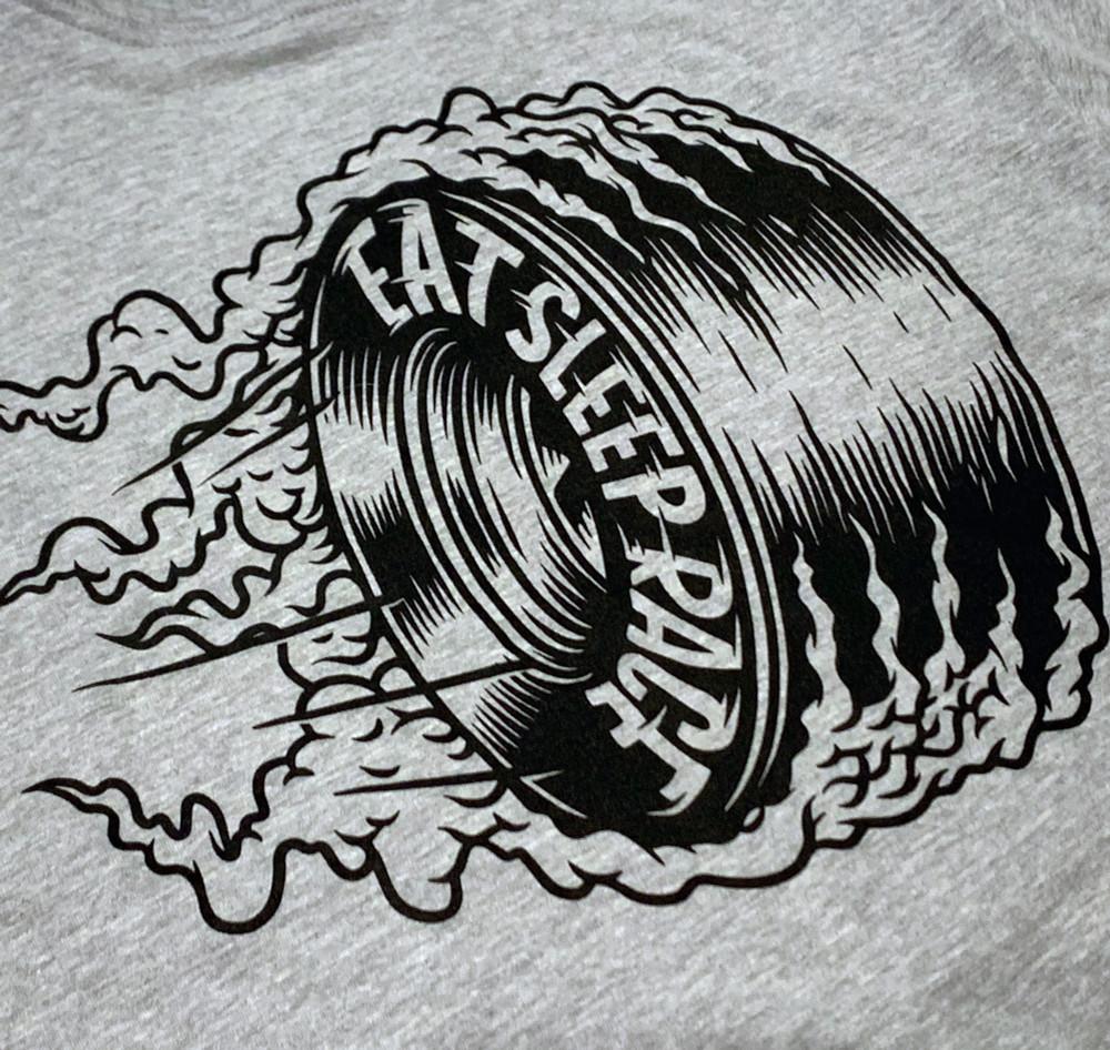 Joe Graf Jr Edt Burnout Lightweight T-Shirt | Grey