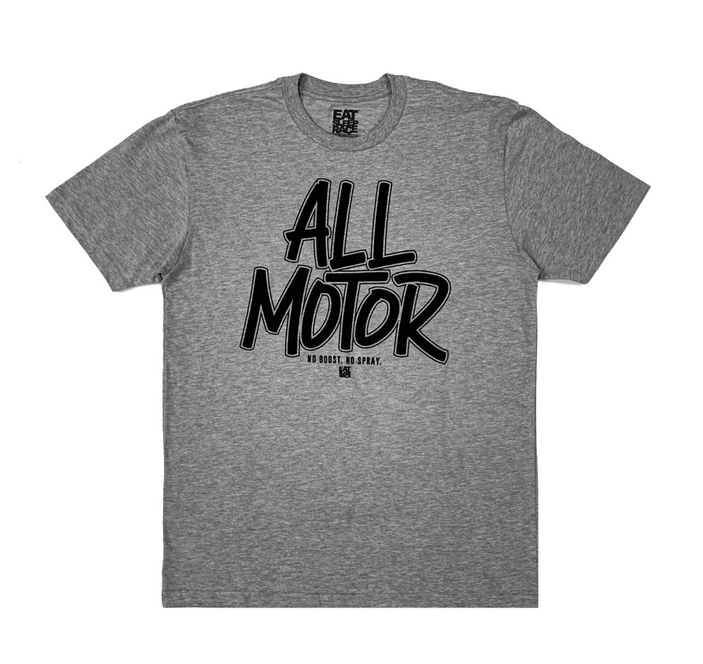 All Motor 9 Lightweight T-Shirt | Grey