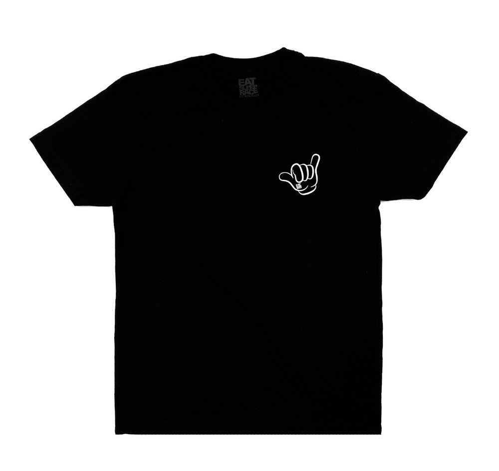 Good Vibes Lightweight T-Shirt | Black/White