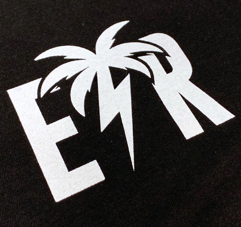 Bolt Palm Emblem Lightweight Tank Top | Black/White