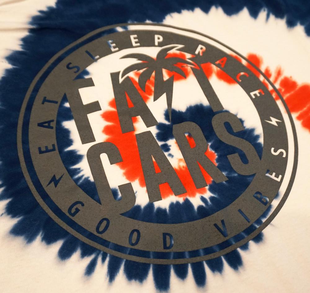 Bolt Palm Emblem T-Shirt | RWB Tie Dye