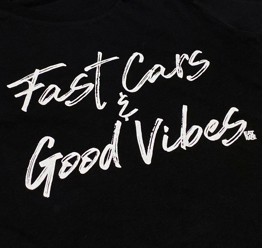 Ladies Good Vibes Shirt | Black