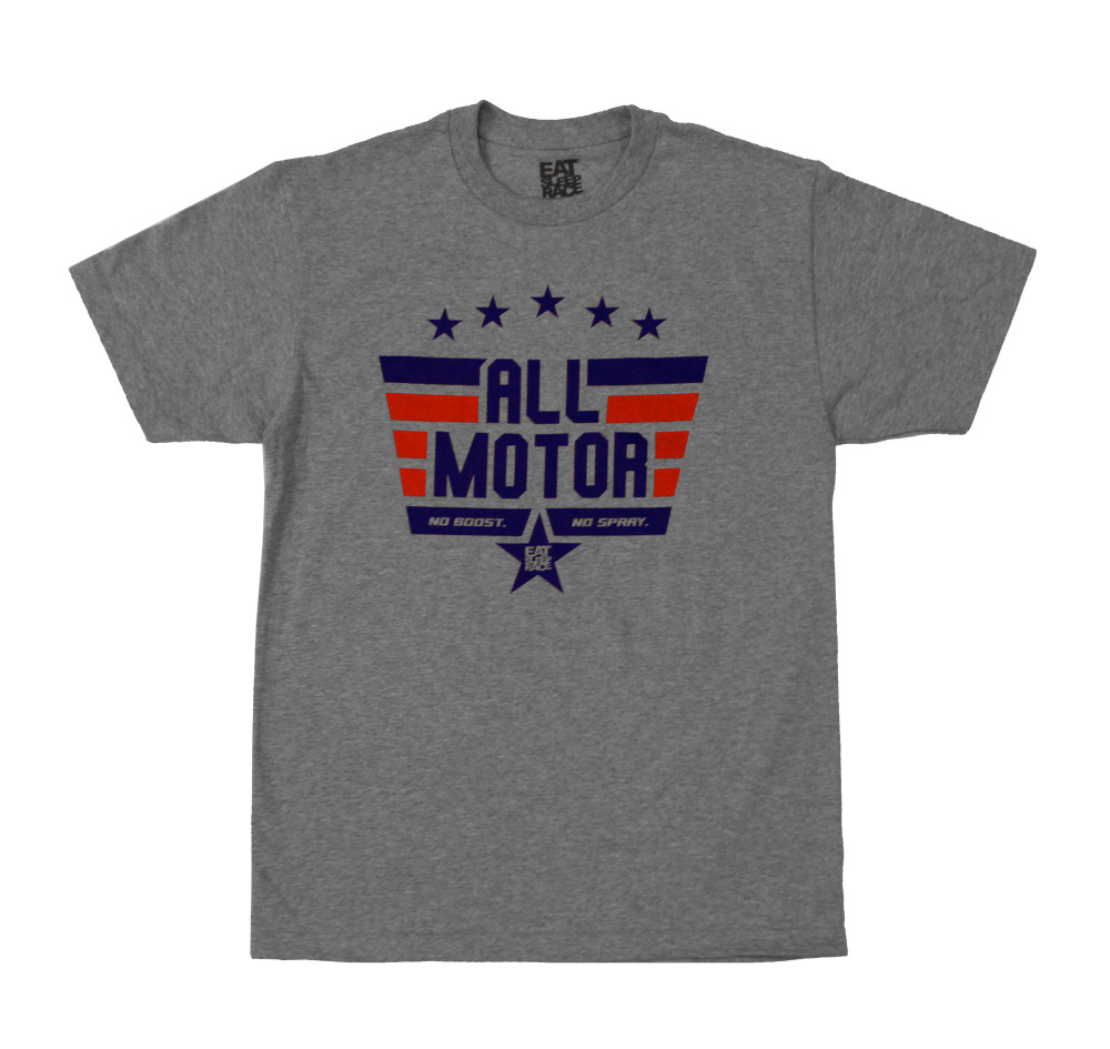All Motor 10 T-Shirt | Grey